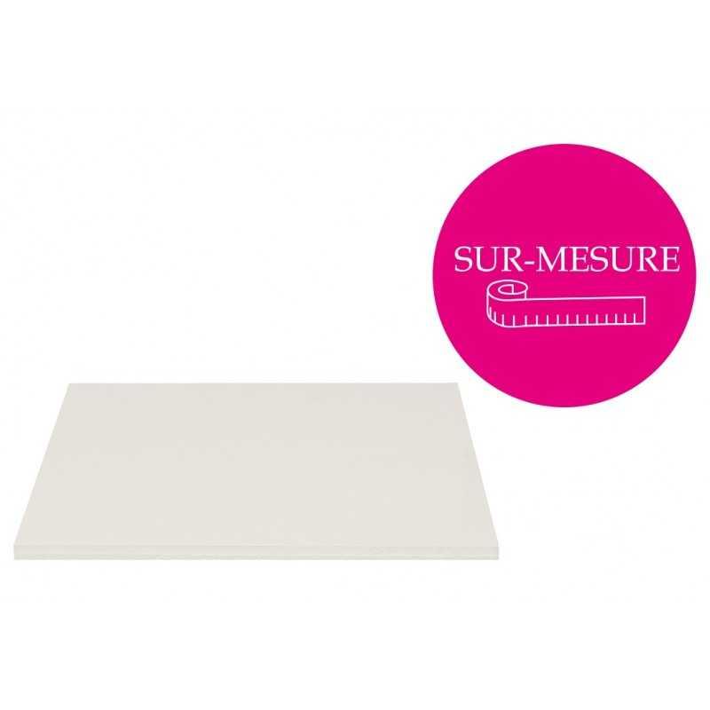 Carton mousse blanc 10mm - 122x190cm (découpe sur mesure - PAS DE CHUTES A ENVOYER)