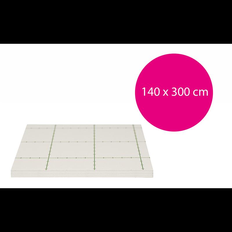 Carton plume adhésif blanc 10mm, carton mousse adhésif blanc 10mm,Carton mousse Autocollant 10mm (140x300cm)