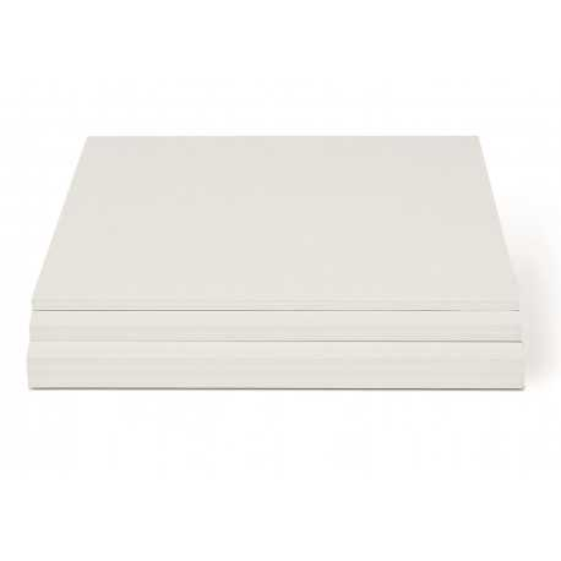 Carton mousse blanc 5mm 32x45