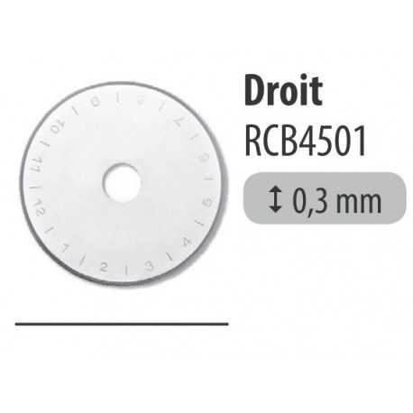 Lame DROITE cutter rotatif 45mm altera