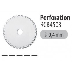 Lame perforation - Pack 1 pièce