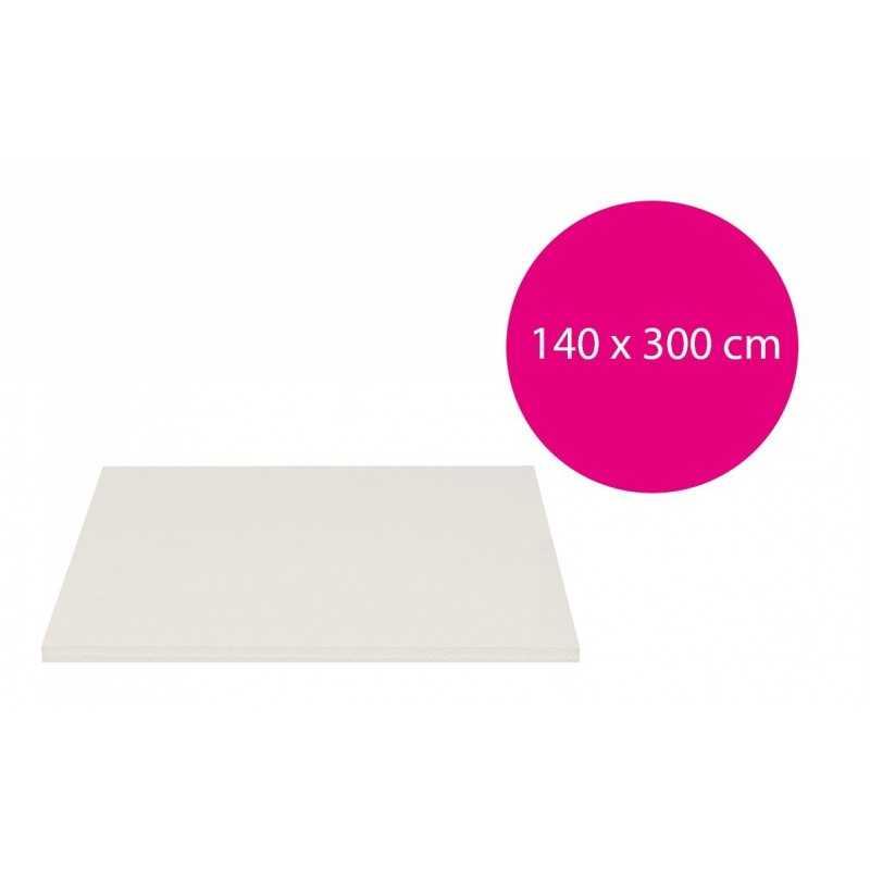 Carton mousse blanc 10mm (140x300cm)