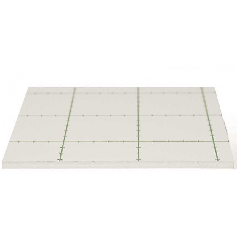Carton mousse blanc - AUTOCOLLANT - 10mm SUR-MESURE